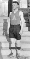 Basketball forward Tom McMullen in uniform, 1920