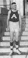 Basketball center Morgan McKay in uniform, 1920