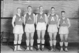 1918 state champion UAC basketball team