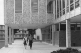South entrance of the Engineering building, 1960s
