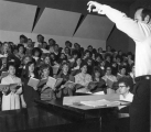 Choral class under the direction of William H. Ramsey, 1960s