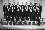 Madrigal singers under the direction of A. L. Dittmer, 1960s