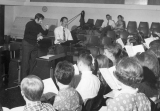 Chorale singing group practice, 1960s