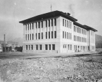 Engineering building shortly after construction in 1918