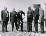 Ground breaking, May 2, 1961