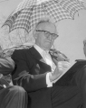 David O. McKay at ground breaking ceremony, May 2, 1961