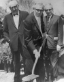 Ground breaking ceremony, May 2, 1961
