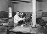 Engineering class, 1920s