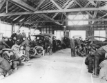 Automotive repair class, 1918