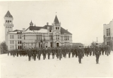 ROTC Battalion formation, 1920