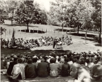 ROTC commissioning exercises, circa 1952
