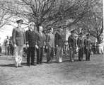 Military Inspection and Review Day, circa 1950