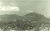 Campus view from Logan Temple, circa 1923