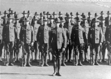ROTC military formation, circa1918
