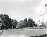Old Main building, 1940s