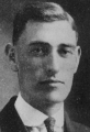 Ray J. Becroft, student body president, 1917