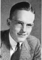 Dale Lewis, student body president, 1944