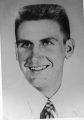 Le Ron Johnson, student body president, 1958