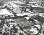Aerial view of campus, Summer 1952