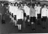 Angel Flight members marching, 1960s