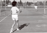 New tennis courts located on 700 North St., 1960s