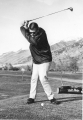 Ronald Morgan, member of the USU Golf Team, 1964