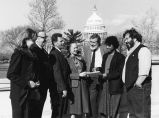 Left to right: Jeanne Guillemin, Russell Fridley, William Kinney, Jr., Judith McCulloh, J. Barre...