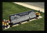 Weisbeck grave marker in Cody, Wyoming, 1997