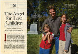 Reader's Digest article, January 2000, 'The Angel for Lost Children' by Barbara Sande Dimmitt regarding statue by...
