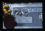 Acordagoitia headstone decorations, Jordan Valley, Oregon, 1999 (2 of 20)
