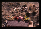 Phillip and Emma Johnson headstone, Woodside, Utah, 1989