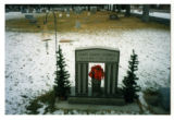 Carey Shane Gunnel headstone and grave decorations, Logan, Utah, 1999