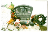 Analee Christensen headstone, Logan, Utah, 1999