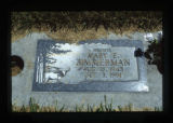 Gravemarker, Jordan Valley, Oregon, 1999 (19 of 20)