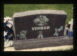 Yonker child's grave marker in Cody, Wyoming, 1997