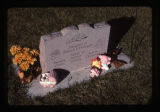 Daughter of Howard and Evelynda headstone, Logan, Utah, 1999