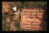 Daniel David Jones grave marker, Ephraim, Utah, 1999 (1 of 2)