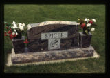 Spicer headstone, Cody, Wyoming, 1997 (2 of 2)