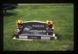 Parkins headstone, Cody, Wyoming, 1997