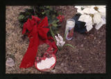 Christmas themed grave decorations, Ogden, Utah, 2000 (6 of 41)