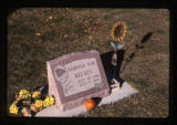 Sabrina Kae Kelsey headstone, left view, Logan, Utah, 1999