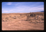 Distance photograph of cemetery, Woodside, Utah, 1989 (6 of 14)