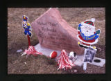 "Michael ""Tyler"" Richards headstone and decorations, Salt Lake City, Utah, 2000 (2 of 3)"