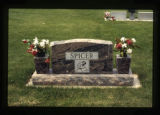 Spicer headstone, Cody, Wyoming, 1997 (1 of 2)