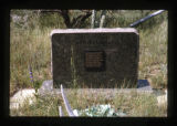 Gravemarker near the South Fork of the Shoshone River close to Cody, Wyoming, 1997 (2 of 16)