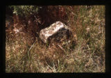 Gravemarker near the South Fork of the Shoshone River close to Cody, Wyoming, 1997 (15 of 16
