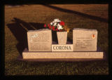 Corona headstone, Ephraim, Utah, 1999 (114 of 128)