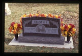 Cherrie Sue Johnson DeMill and Greg L. DeMill grave marker, Ephraim, Utah, 1999 (3 of 4)