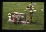 Mollie M. Shepherd and David R. Shepherd grave marker, Cody, Wyoming, 1997 (2 of 3)