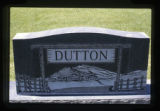 Dutton grave marker, Cody, Wyoming, 1997 (2 of 2)